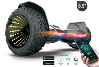 "Black G2 WARRIOR PRO LED RIM 8.5"" All Terrain Off Road Hoverboard Segway UL2272"