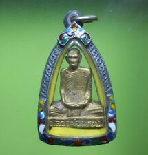 REAL LP DERM STATUE OLD THAI BUDDHA AMULET VERY RARE !!!
