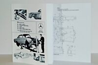 MERCEDES-BENZ MODELS 1959-1971 BODYWORK & REPAIR 220SE 250SE W111 BOOK Volume 3