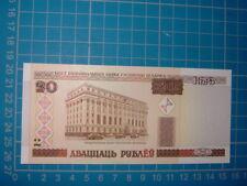 20 Rubles note UNC World Asia Europe Belarus 2000