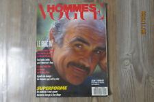 Magazine Revue mode fashion VOGUE HOMMES n 96 février 1987