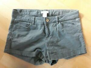 Hotpants H&M  Gr 36 S KHAKI denim