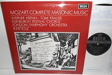 SXL 6409 Mozart Complete Masonic Music London Symphony Orchestra Kertesz WB