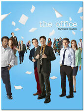The Office TV Series Comedy Cast Steve Carell Movie Art Silk Poster 24x36inch