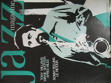 JAZZ MAGAZINE 194 SONNY ROLLINS TONY WILLIAMS WAYNE SHORTER FESTIV MONTEREY 1971