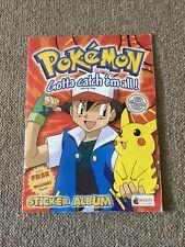 More details for pokemon 1999 merlin nintendo sticker album book 100% complete