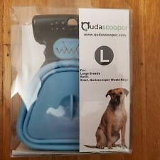 Qudascooper Pooper Scooper Large Breed Dogs One roll of bags already installed