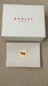 RADLEY STURDY MEDIUM GIFT BOX, TISSUE PAPER &STICKER MEASURES 30CM X 24CM X 10CM
