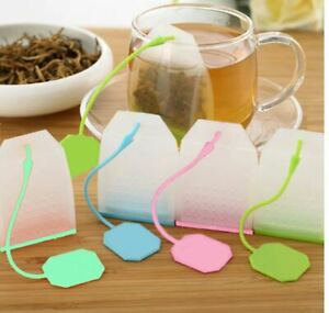Tea Infuser Silicone and Plastic Infuser Loose Tea Leaf Leaves Strainer Tea Bag