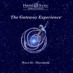 Hemi Sync Gateway Wave II 2 - Threshold CD New Box Set Meditation Relaxation