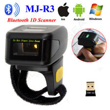 1D Bluetooth Laser Barcode Scanner Wearable Ring Type Reader For Andriod iphone