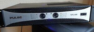 PULSE 600 rack mountable power amplifier