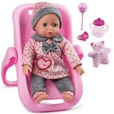 Bambola Amore Mio Bambolotto con Seggiolino Port Enfant Auto e Accessori Gioco