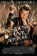 Resident Evil 4 Final Original Movie Poster Double Sided 27x40 inches