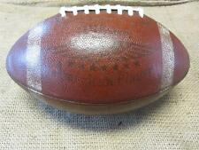Vintage 1953 Wilson 1437 American Player Leather Football > Antique Ball 8043