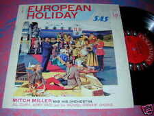 EUROPEAN HOLIDAY Miller 10in JON WINTERS LP Jerry Vale+