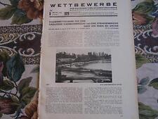 1929 Beilage Bauzeitung 6 / Eisenbahnbrücke Rhein Speyer