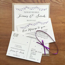 Card Wedding Invitations with 501-1000 Items