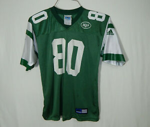 Wayne Chrebet New York Jets NFL Football Jersey YOUTH MEDIUM 10 12 Boys Clothing