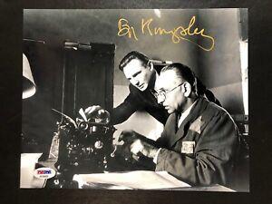 Ben Kingsley Signed 8x10 Photo Schindlers List Autograph PSA/DNA