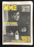 NME 28 November 1987 Peter Gabriel Housemartins Gun Club Dinosaur Jr
