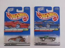 Hot Wheels Treasure Hunt Scorchin Scooter & 1957 T-Bird Real Riders  MOC