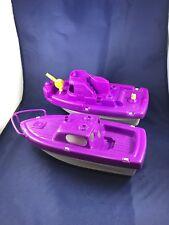 Vintage Processed Plastic Toy Boats Sea Hawk & Harbor Patrol #3156 Ill., USA