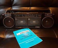 80s Ferguson 3T32 Stereo Twin Cassette Radio Tape PlayerGhetto Blaster BoomBox