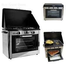 Camp Chef Camping Outdoor Oven with 2 Burner Camping Stove - New & Sealed