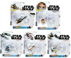 Hot Wheels Star Wars Starships 2021 Die Cast Vehicles You Choose
