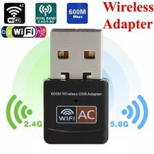 USB Wifi Adapter 600Mbps Dual Band 2.4G/5.8G Mini Wi-fi Wireless Network Dongle