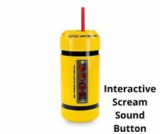More details for walt disney world parks store monsters inc scream canister tumbler straw sounds