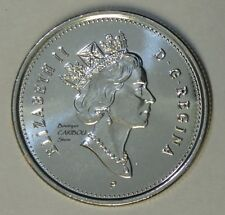 2003 P Canada 25 Cents Old Effigy BU