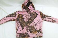 Mossy Oak Break-Up Infinity Girl's XL 14-16 Pink Camo Hoodie - Ink Marks #H392