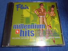 FLAIR MILLENNIUM HITS 4 Three Degrees, Kiki Dee, ua. Pop CD 10 Tracks RAR+NEU!!!