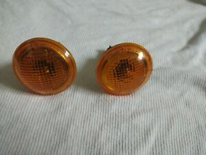 LAND ROVER RANGE ROVER 2003 to 2012 AMBER SIDE MARKER REPEATER LIGHTS SET