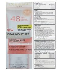 LOREAL IDEAL MOISTURE EVEN TONE INSTANT GLOW DAY LOTION RETIRED FREE SHIPPING US