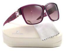 NEW Swarovski Sunglasses SW 0020 Purple 81Z BLING 59mm