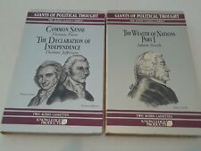 Knowledge Products The Giants of Political Thought Lot of 2 - Rare