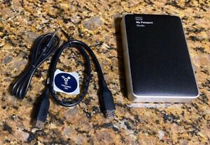 Western Digital WD My Passport Studio 1TB Portable Hard Drive Firewire 800 USB C