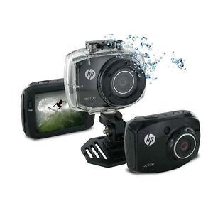 Caméra de sport, Action cam: HP  AC-100, Full HD 1080p capteur12 MPx comme Gopro