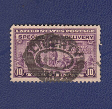 USED SCOTT #E15a WITH LIBERTY, MO HANDSTAMP SOCKED ON NOSE (SON) CANCEL