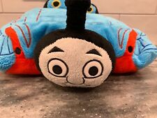 "Thomas The Train Pillow Pet Plush 12"" Stuffed Soft Toy Blue Pee-Wees"
