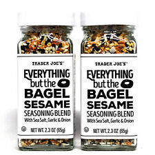 Trader Joe's Everything but The Bagel Sesame Seasoning Blend 2 Pack New Sealed