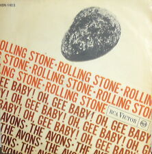 """THE AVONS  7""""  ITALY 1964    ROLLING STONE - OH GEE BABY  RCA 1964 ITALY PS"""