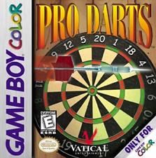 Pro Darts Nintendo Game Boy Color Game Cartridge Six Styles of Pub Games
