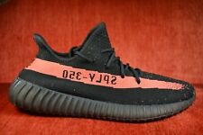 2016 ADIDAS YEEZY BOOST 350 V2 KANYE WEST CORE BLACK RED STRIPE BRED BY9612 12