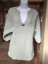 Seafoam color Pure Brand ladies sweater sS/M P/M