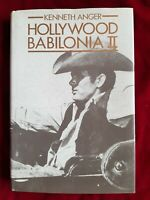 LIBRO BOOK ILLUSTRATO KENNETH ANGER HOLLYWOOD BABILONIA II 1987 FR2