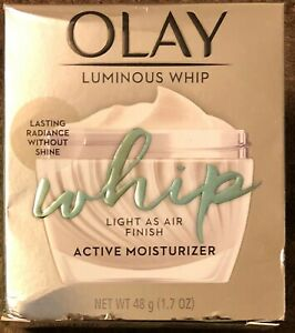 1 Package Olay Luminous Whip Active Moisturizer 1.7 OZ (48 g) NEW
